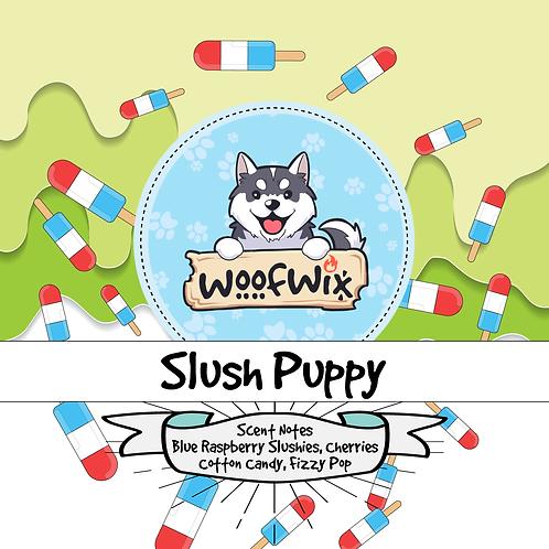 Slush Puppy - Blue Raspberry Slushie + Cherries + Cotton Candy + Fizzy Pop