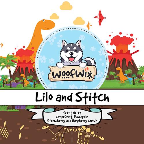 Lilo & Stitch - Orange, Lime, Lemon, Grapefruit, Strawberry, Raspberry