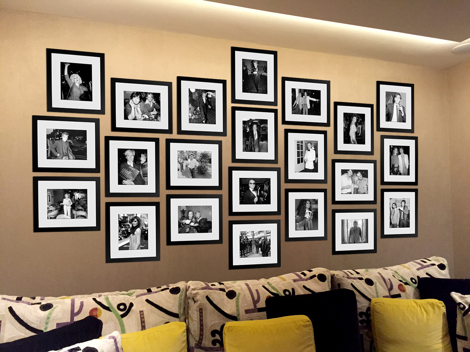 Private Client Wall Design