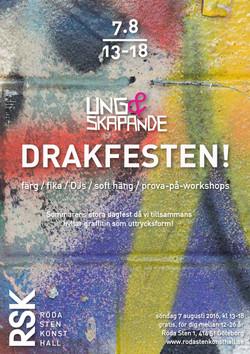 DRAKFESTEN Poster