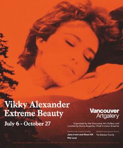 Vikky Alexander On Trak Print Ad