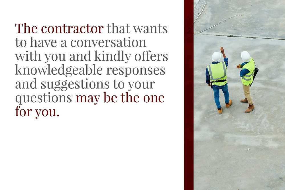 Trustworthy concrete contractor