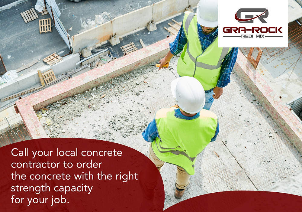 contact your concrete contractor of concrete advice
