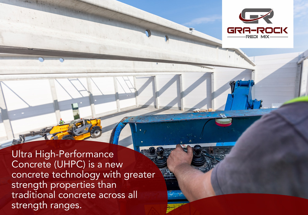 ultra high performance concrete is a new concrete technology