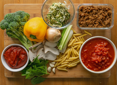 mike's super duper slow cooker veggie pasta sauce