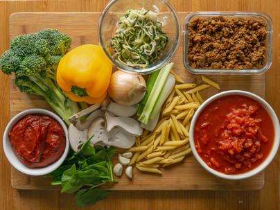 mike's super duper slow cooker veggie pasta sauce