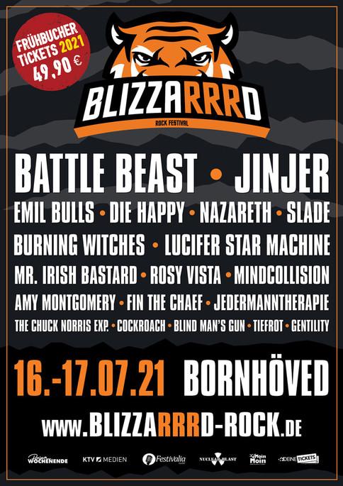 Blizzarrd Rock Festival  auf 2021verrrlegt