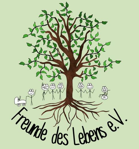 """We support """"Freunde des Lebens e.V."""""""