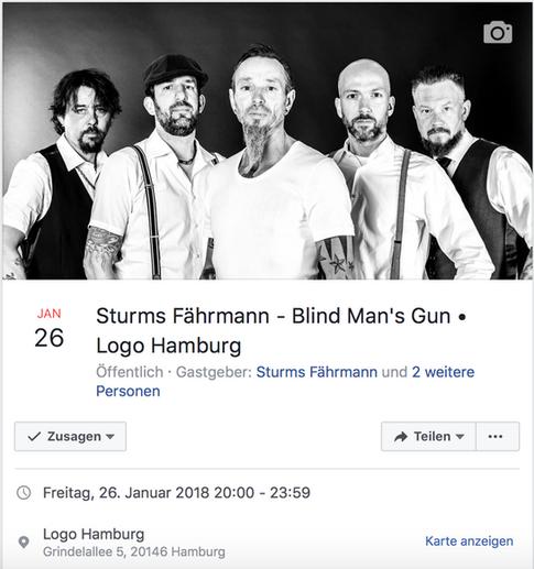 NEXT STOP: LOGO HAMBURG 26.01.2018