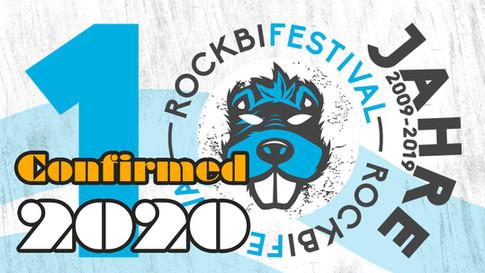Confirmation: Rockbi Festival 2020