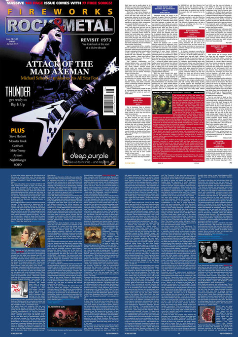 BMG in Fireworks Magazine U.K
