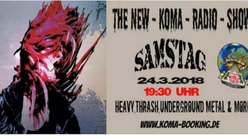 Tonight BMG will be played at the Koma Radio Show!