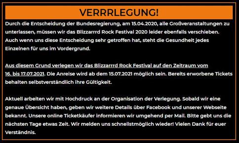 BLIZZARRRD FESTIVAL NUN 2021!