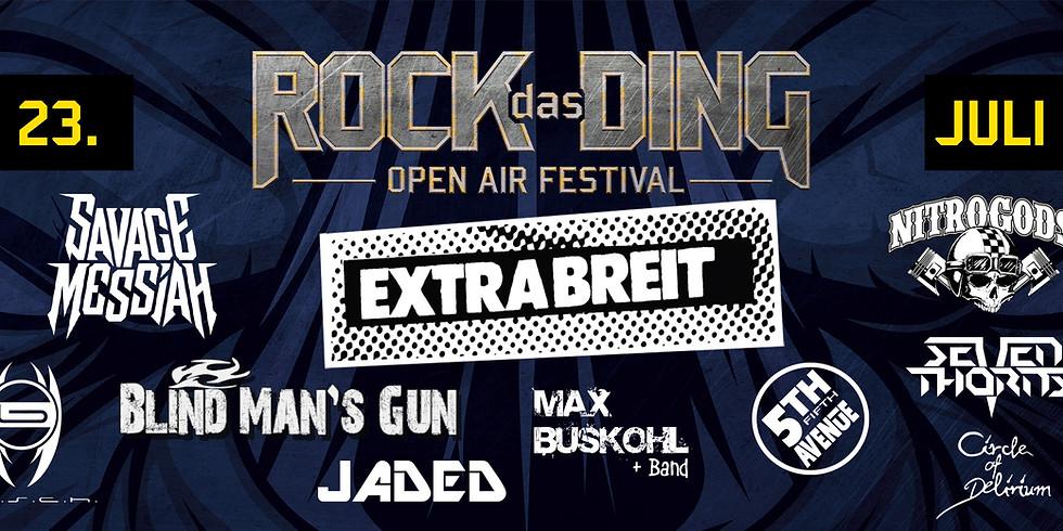 Rock das Ding Open Air 2022
