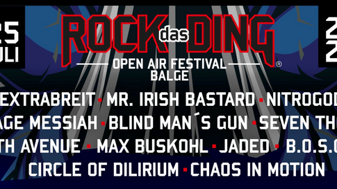 Rock das Ding 2020 - Confirmed