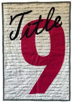 Title 9, by Nancy Cayton