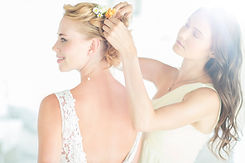 Wedding Bride hair. Santa Monica Beauty and Hair Salon