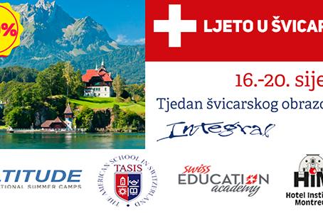 Tjedan posvećen švicarskom obrazovnom sustavu održava se po prvi puta u Hrvatskoj od 16.-20. siječnj
