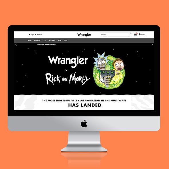 Wrangler x Rick and Morty