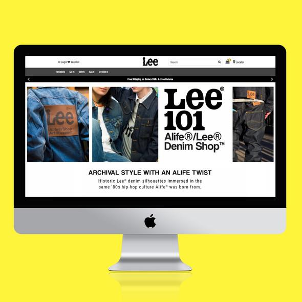 Lee 101 x Alife Denim Shop Experience