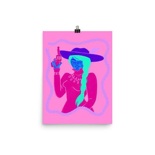 Cowpoke Poster