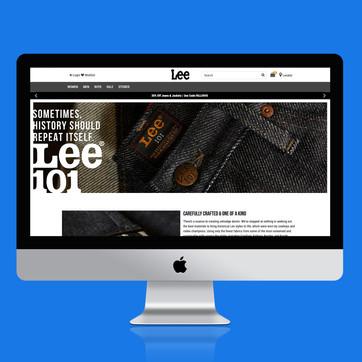 Lee 101 Landing Page