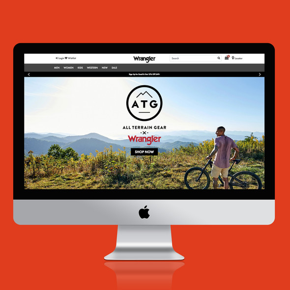ATG by Wrangler Landing Page