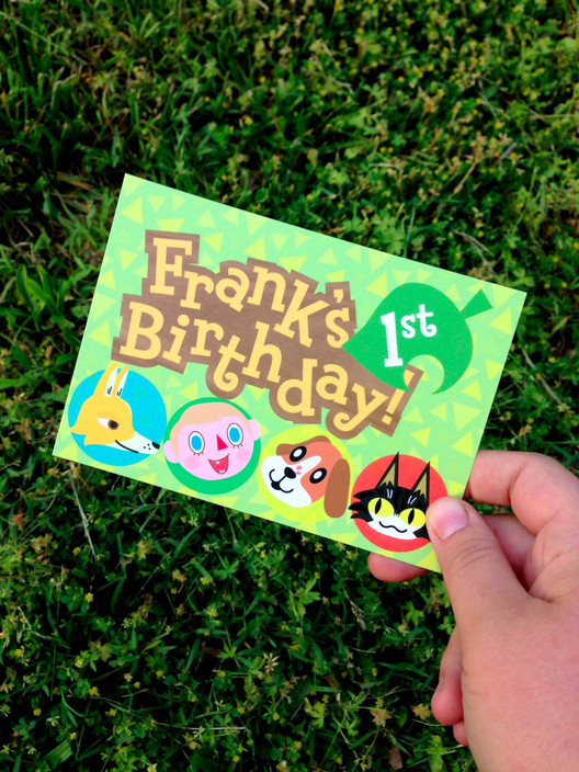 Frank's 1st Birthday Invitation