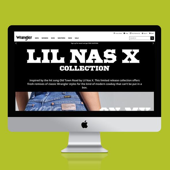 Wrangler x Lil Nas X Collection