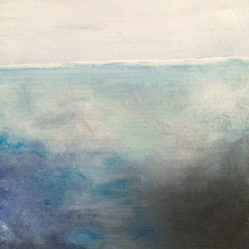 """Sea"" Postcard Print"