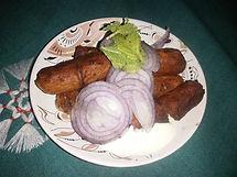 sausage salad with mayo