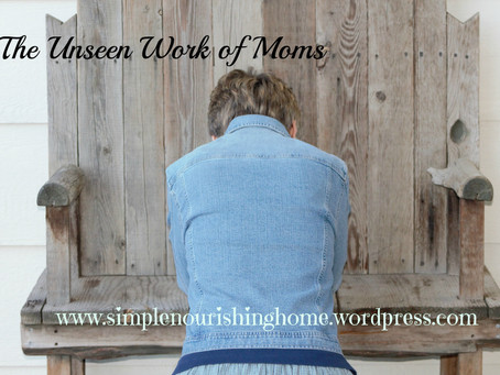The Unseen Work of Moms