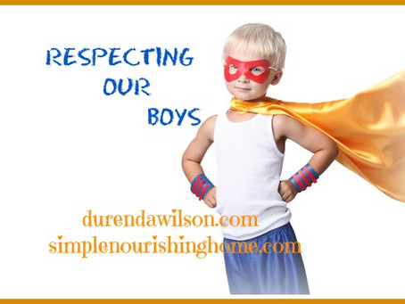 Respecting Our Boys