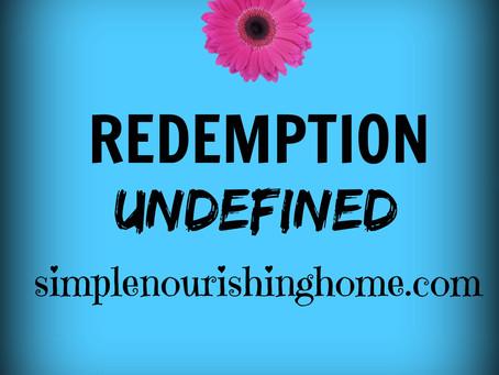 Redemption Undefined