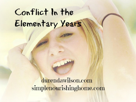 Conflict in the Elementary Years