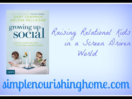 Raising Relational Kids in a Screen-Driven World-Review