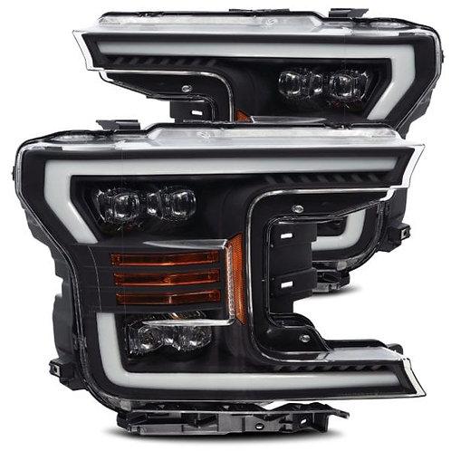 NOVA-Series Full LED headlights for 2018-2019 Ford F150 - Black