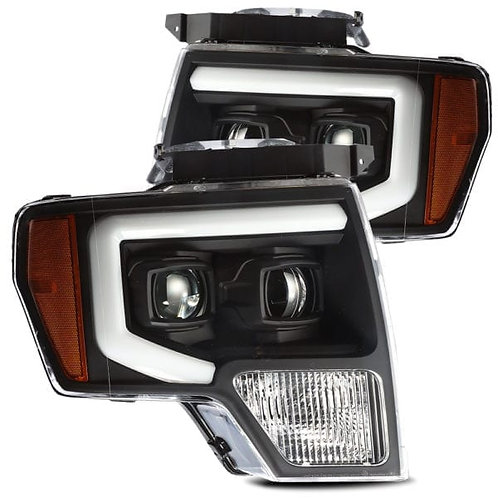 PRO-Series Projector headlights for 2009-2014 Ford F150 - Black