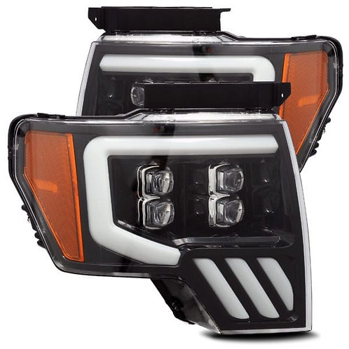 NOVA-Series Full LED headlights for 2009-2014 Ford F150 - Jet Black