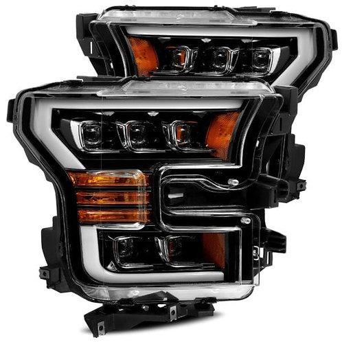 NOVA-Series Full LED headlights for 2015-2017 Ford F150 - Jet Black