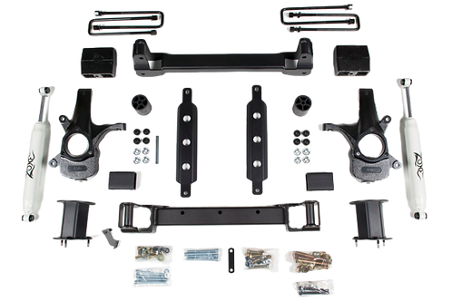 """Zone Offroad 4.5"""" Suspension Lift Kit 14-17 Chevy/GMC 4WD"""