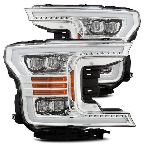 NOVA-Series Full LED headlights for 2018-2019 Ford F150 - Chrome
