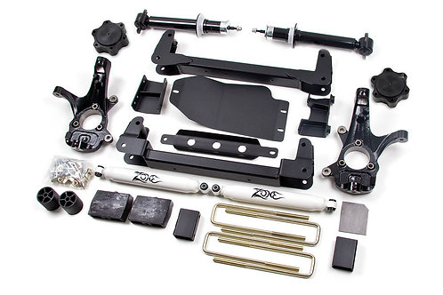 "ZONE OFFROAD 4.5"" SUSPENSION SYSTEM WITH NITRO SHOCKS"