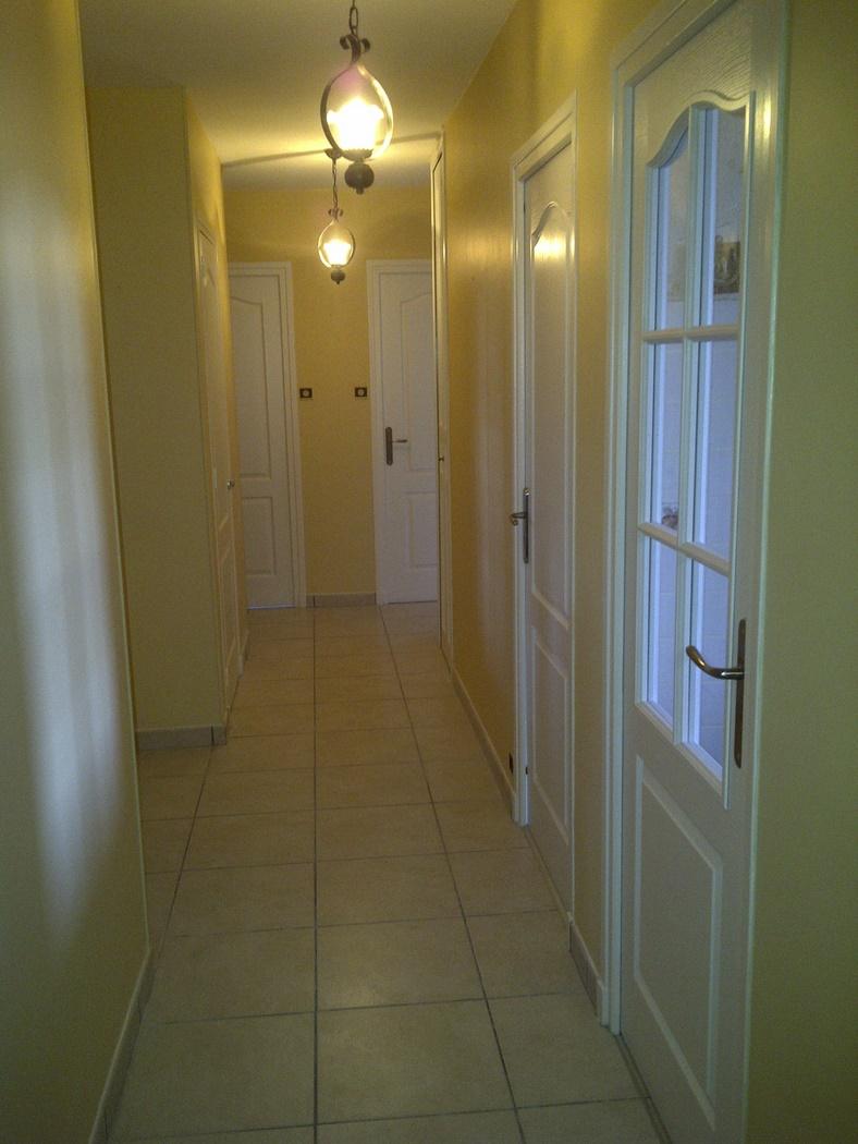 Carrelage et peinture plafond, murs et portes (Copier)