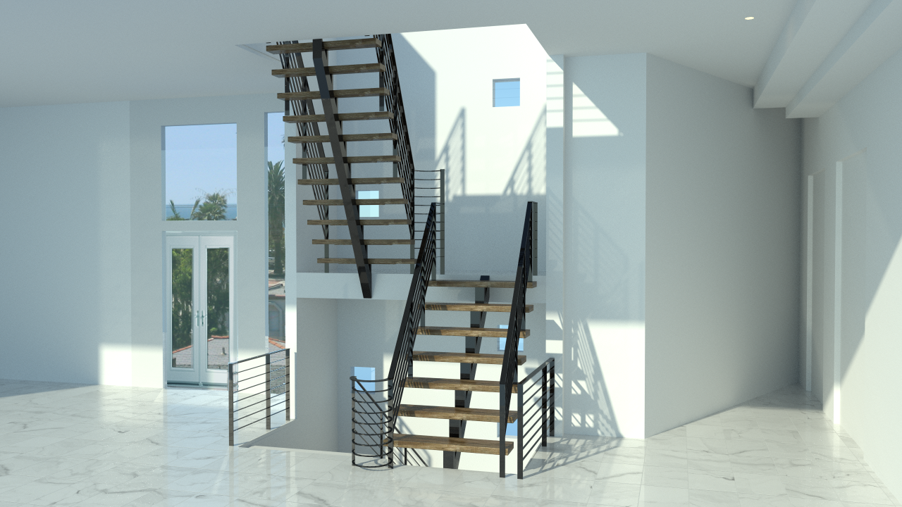 arquitectural stair case design