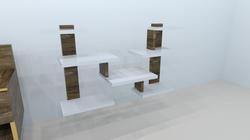 ashley abode shelves