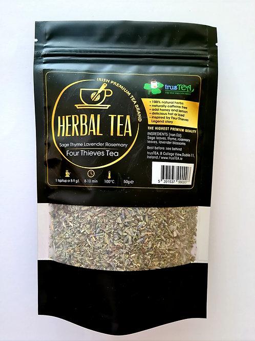 HERBAL TEA -  Sage/Thyme/Lavender/Rosemary