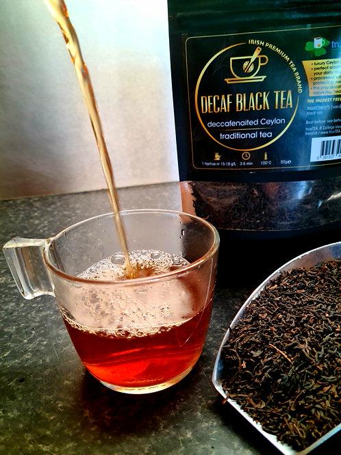 decaffeinated black tea decaf ceylon black tea trusTEA