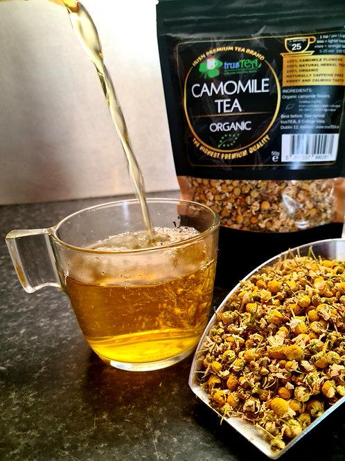 camomile tea organic herbal tea trusTEA