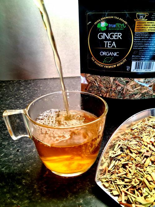 ginger tea organic herbal tea trusTEA